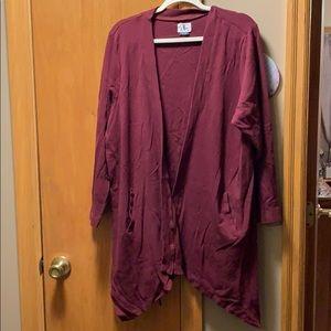 Women's D/C Jeans sweater Jacket. Size 3X